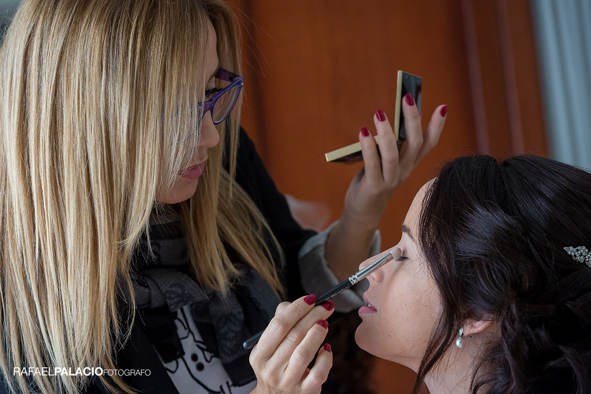 Maquillaje novia Rebeca San Juan