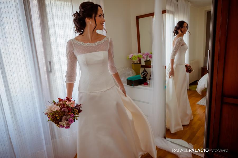 La novia esta preparada