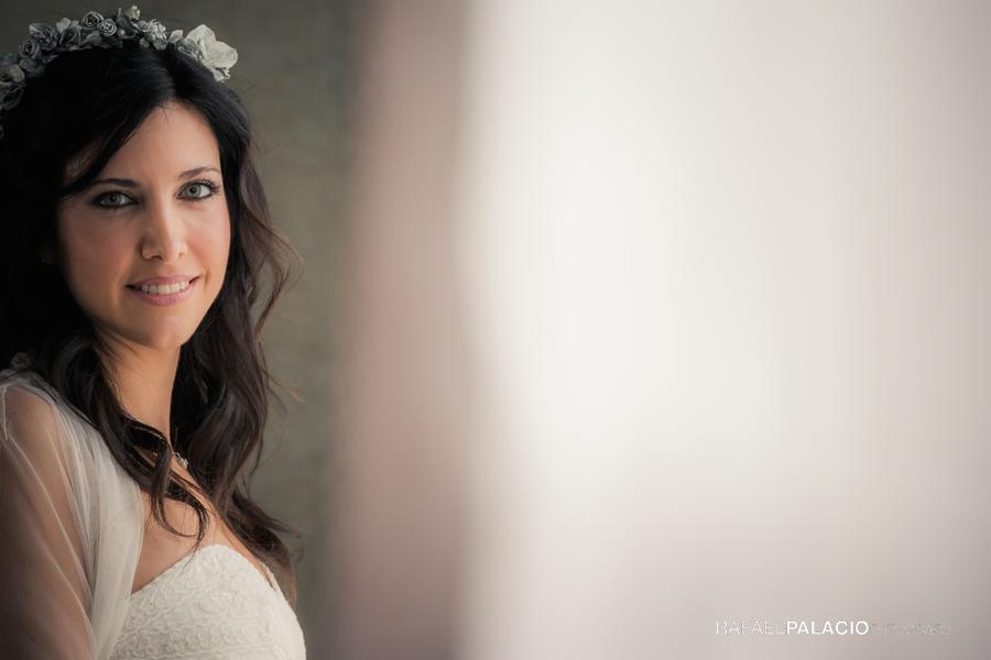 Retratos novia boda Zaragoza