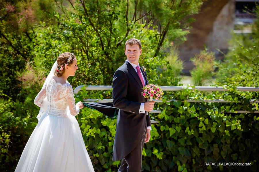 English wedding in Spain