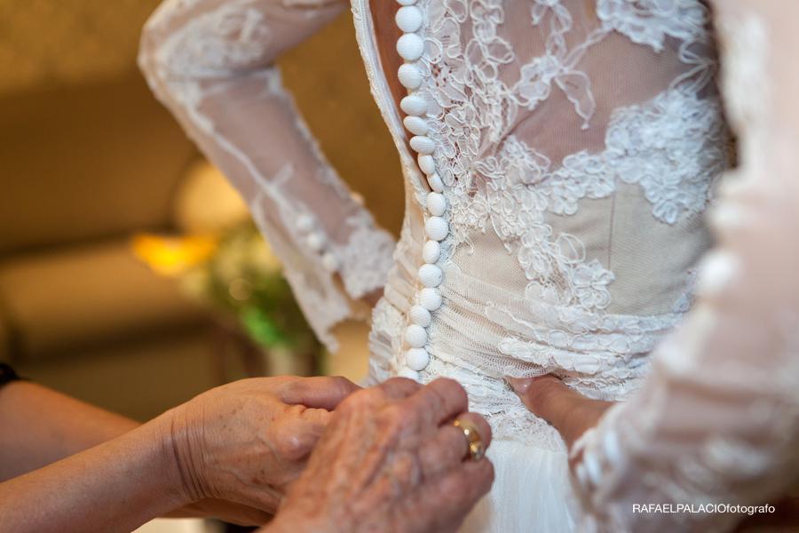 vestido novia boda Melia Corona Zaragoza