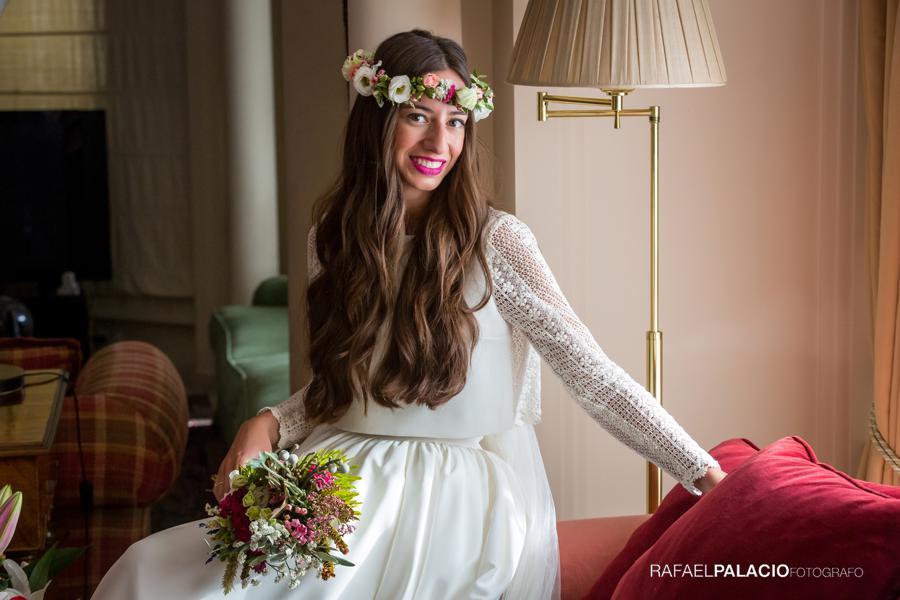 Vestido novia Tacatuca