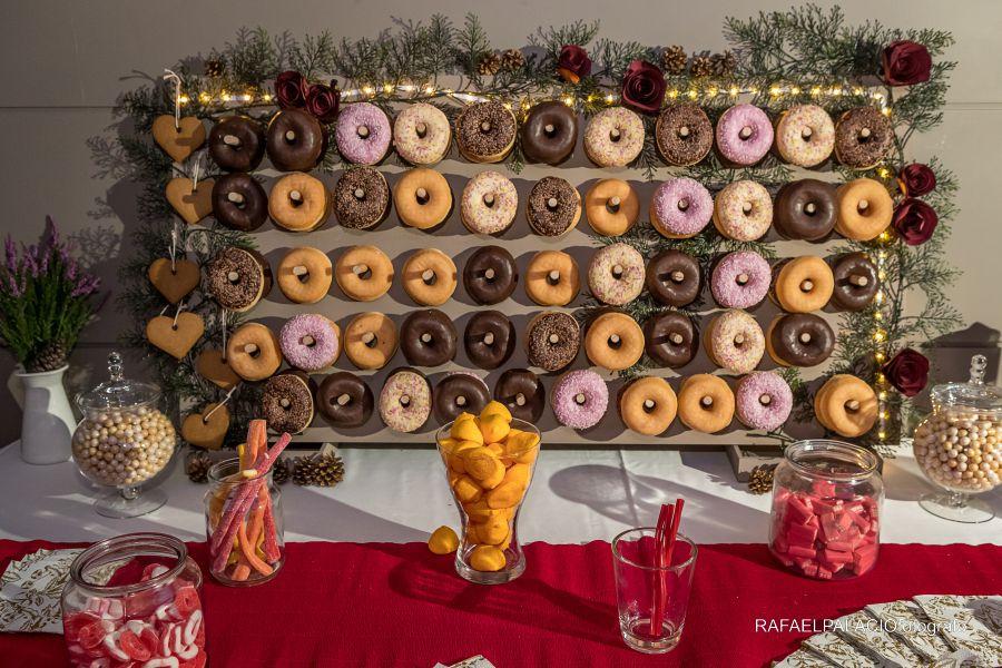 Candy bar donuts