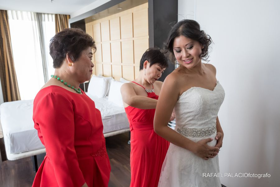 boda china novia zaragoza
